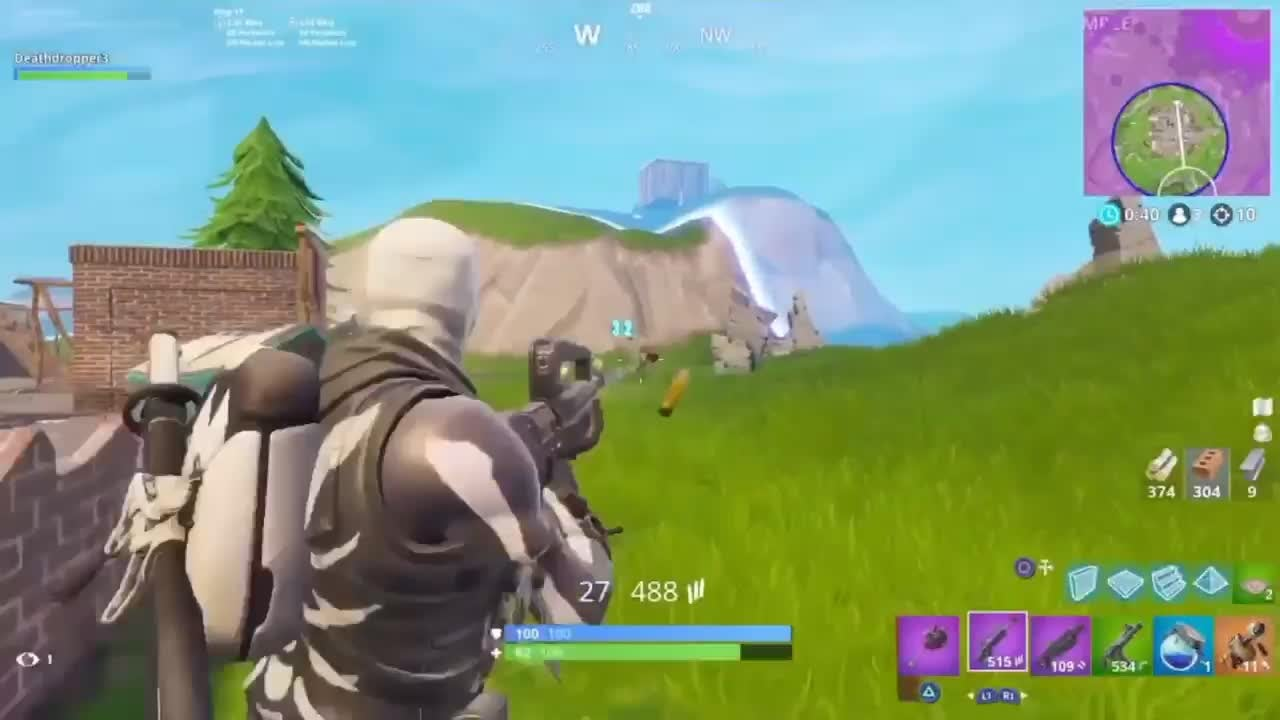 Fortnite: Battle Royale - Trap on the Go!!! video cover image 0