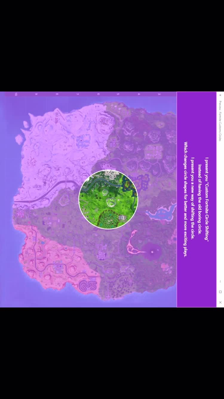 Fortnite: Battle Royale - The Storm Circle Changes Concept video cover image 4