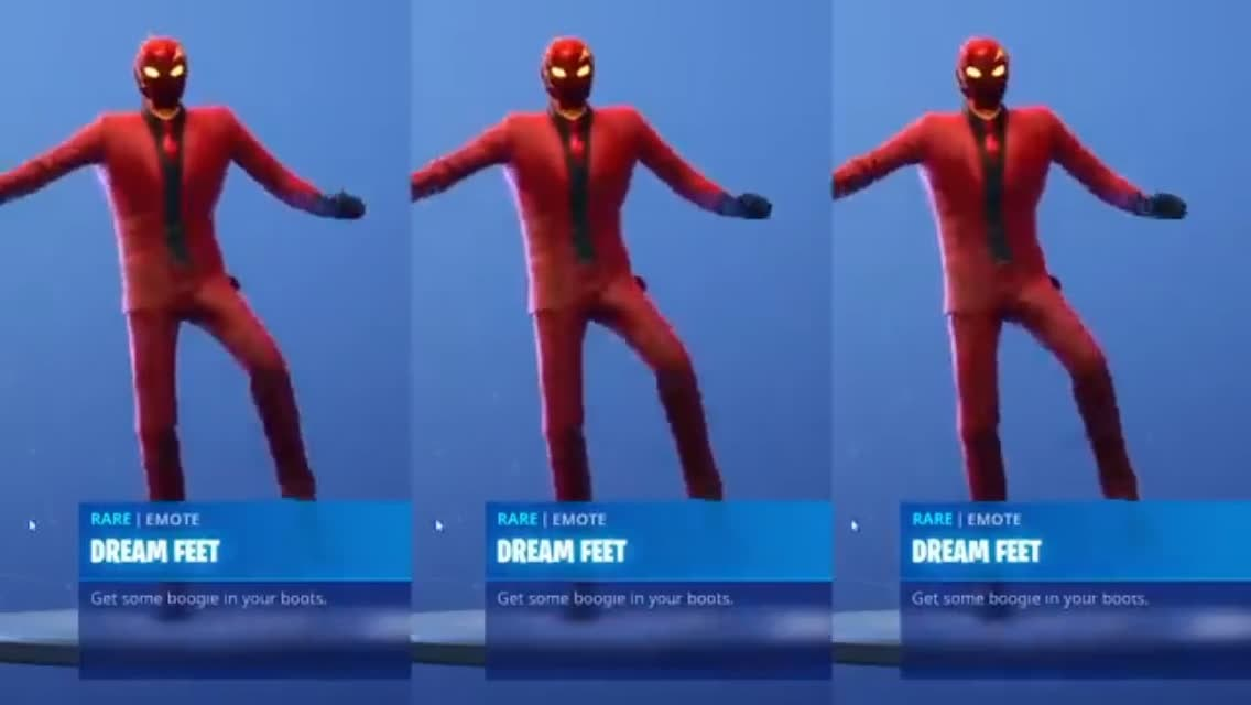 Fortnite: Battle Royale - Dream Feet emote that will soon be coming out for 500 vbucks 💜💯 video cover image 0