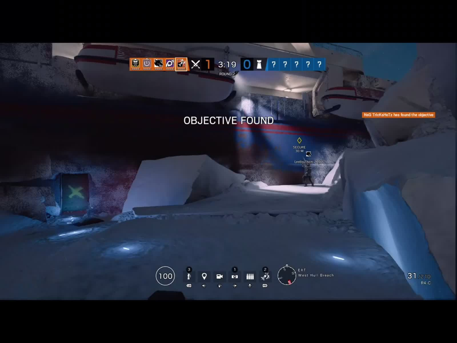 Rainbow Six: General - Ash Rush: 3v1 clutch! video cover image 0