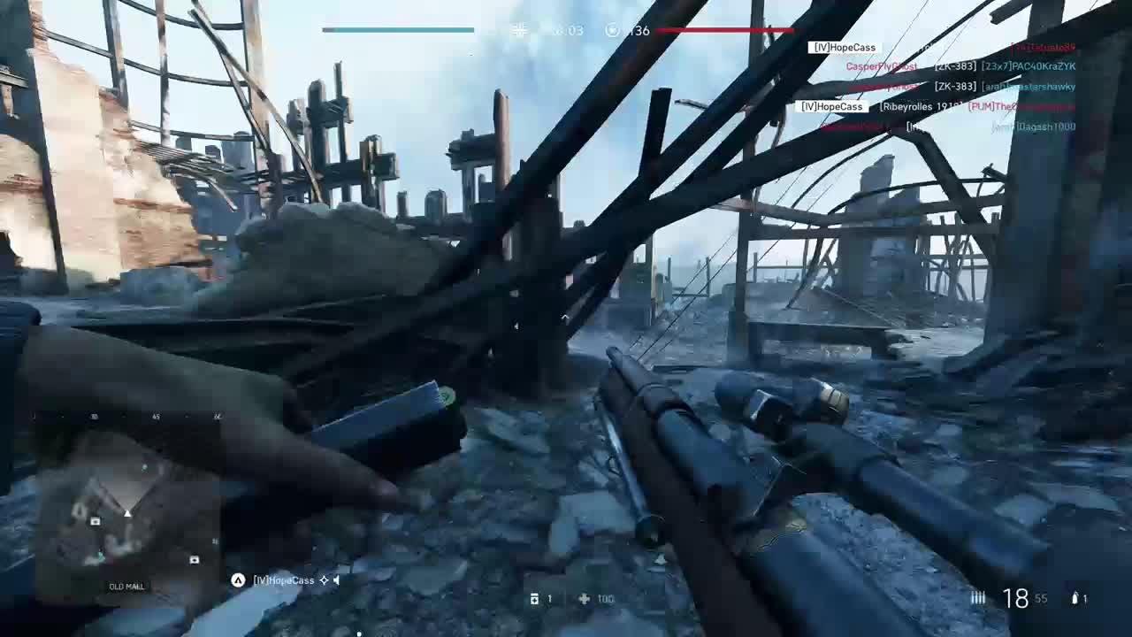 Battlefield: General - Solo TDM 25 kills 3 minutes video cover image 0
