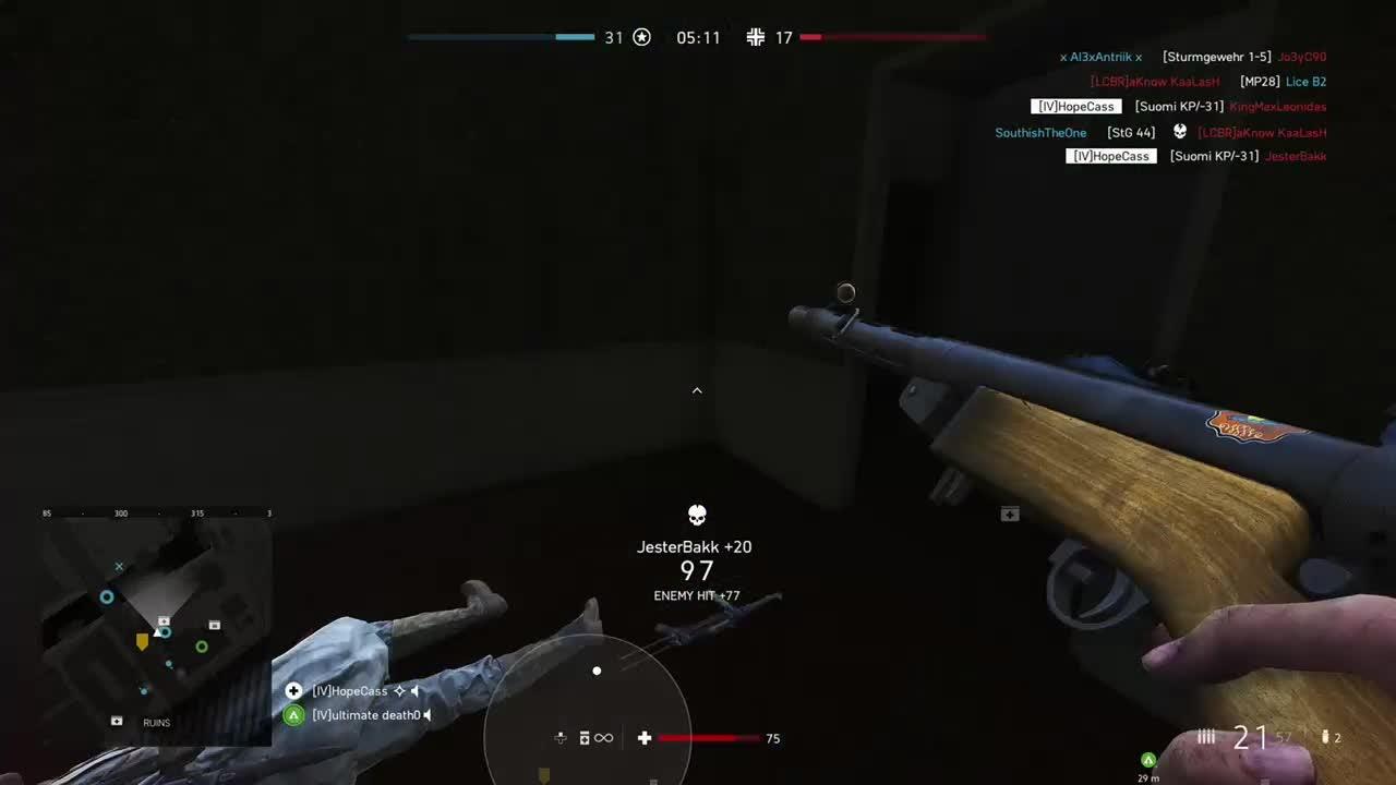 Battlefield: General - TDM 14 kills 1minute Suomi video cover image 0