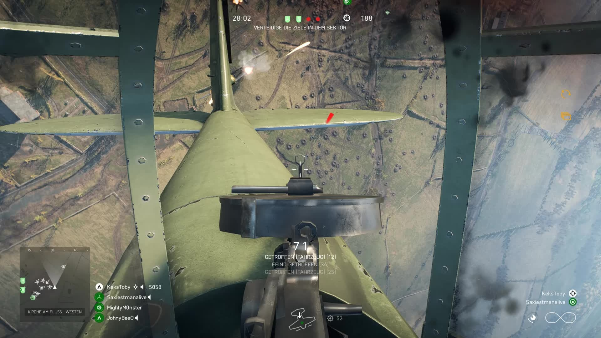 Battlefield: General - My first kill with a plane lol xD video cover image 0