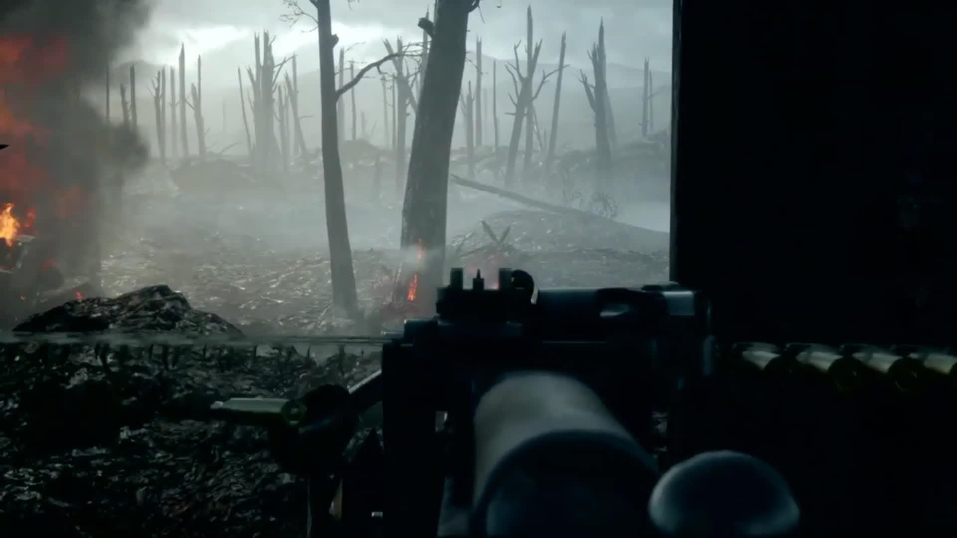 Battlefield: General - Battlefield 1 storm of steel hard , no hud video cover image 1