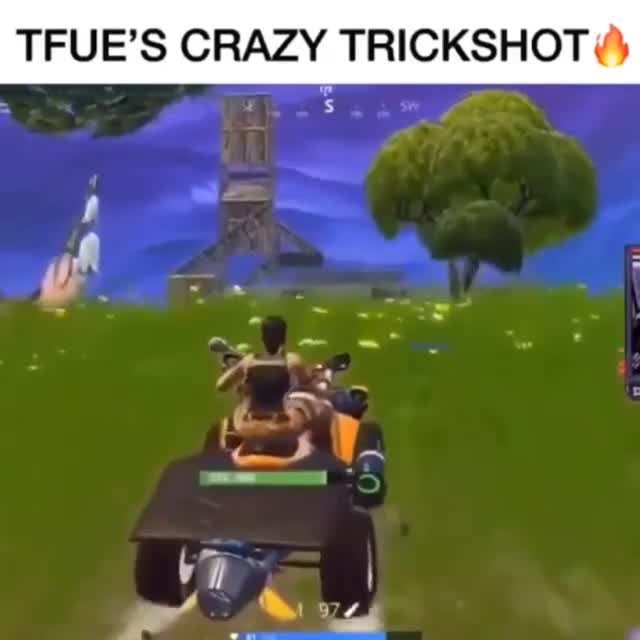 Fortnite: Memes - How tf did he hit this 😂😂😂 video cover image 1