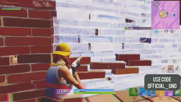Fortnite: Battle Royale - Use my code or i will snipe you 😏 video cover image 1