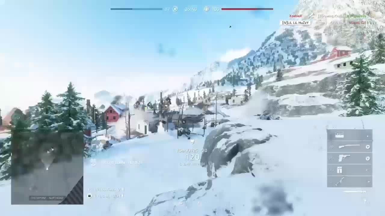 Battlefield: General - TDM 7 knife streak video cover image 0
