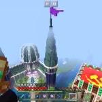 #Mootcraft Prismarine Spawn castle!