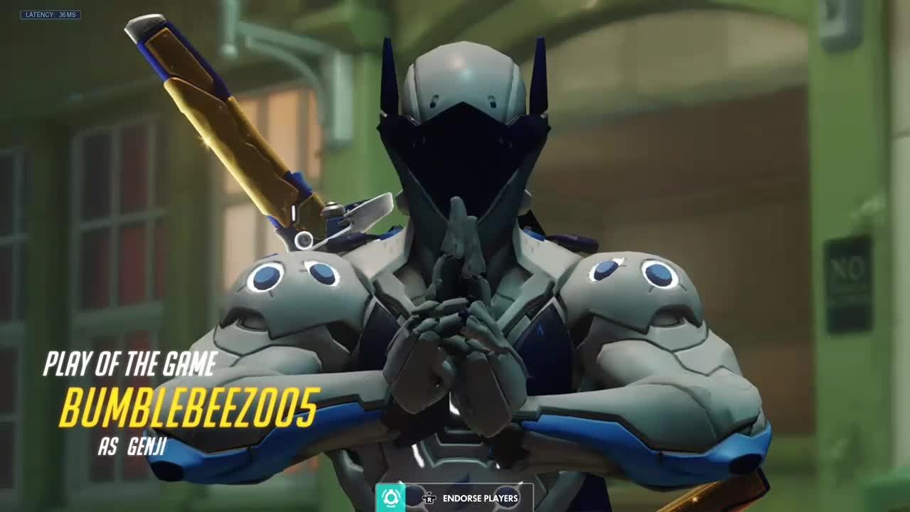 Overwatch: General - Genji 5K, Let's Go!!! video cover image 1