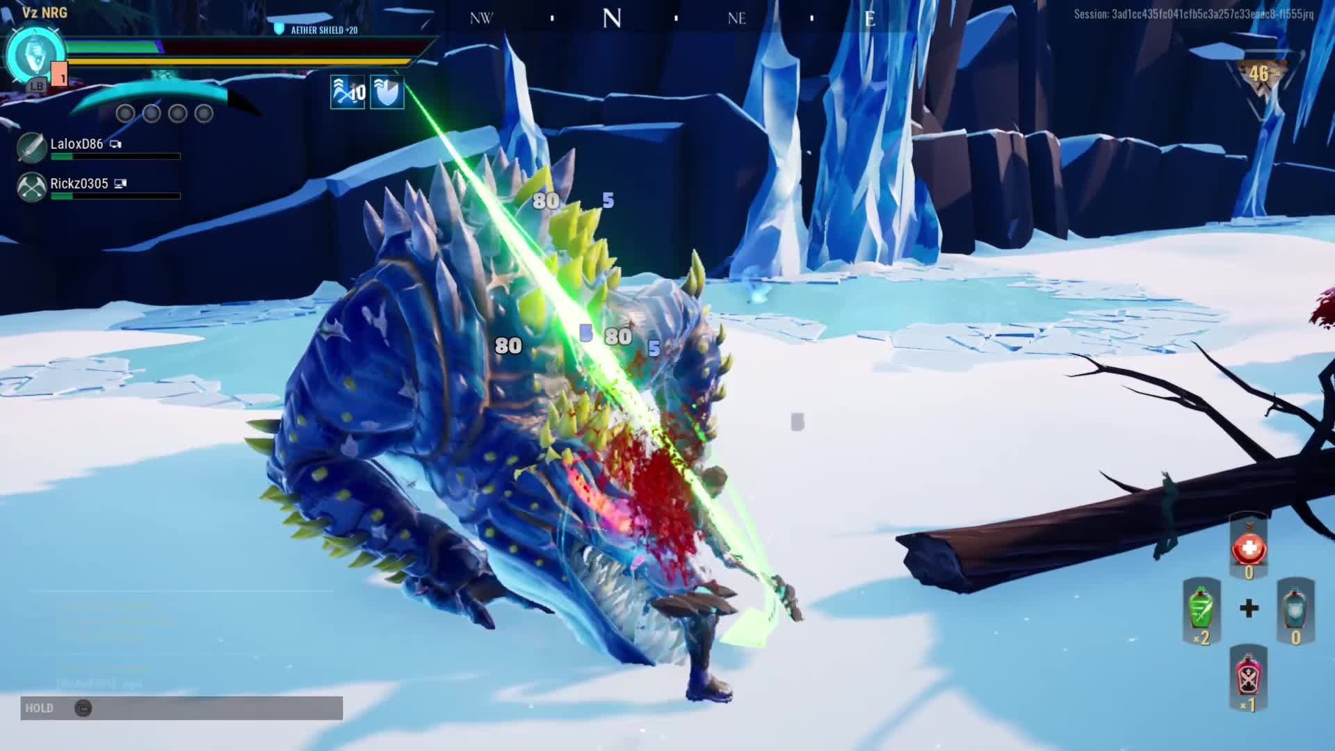 Dauntless: General - That's one way to finish a fight. video cover image 0