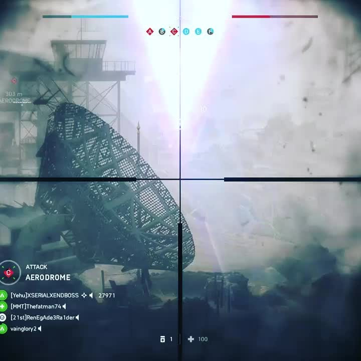 Battlefield: General - I hit this crazy shot a couple of days ago (the one at the end) video cover image 0