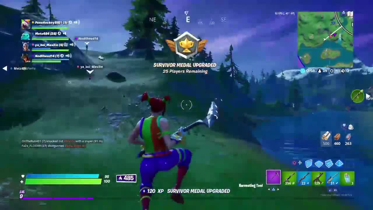 Fortnite: Battle Royale - Crazy snipe out of boat!! video cover image 0