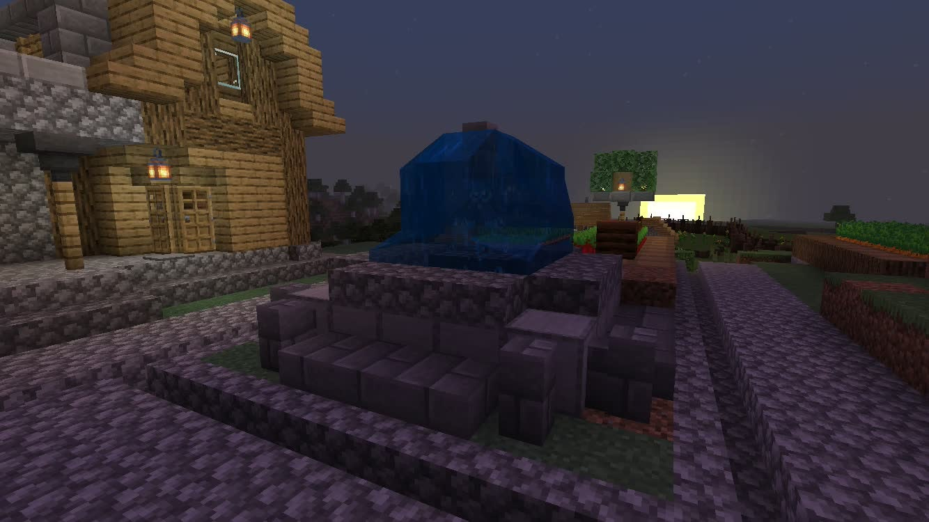 Minecraft: General - Ravine Village Fountain video cover image 1
