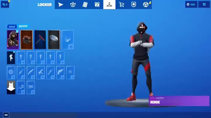 Fortnite: Promotions - Ikonik Accoumt Looking To Sell or trade depends what skins !  video cover image 0