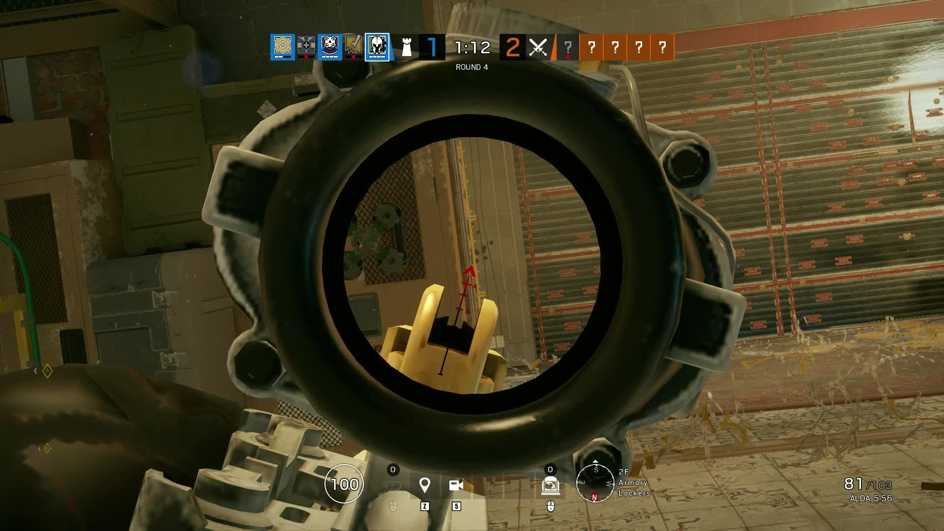 Rainbow Six: Promotions - 7 Second 1v4 Maestro Clutch [PC/Diamond] video cover image 1