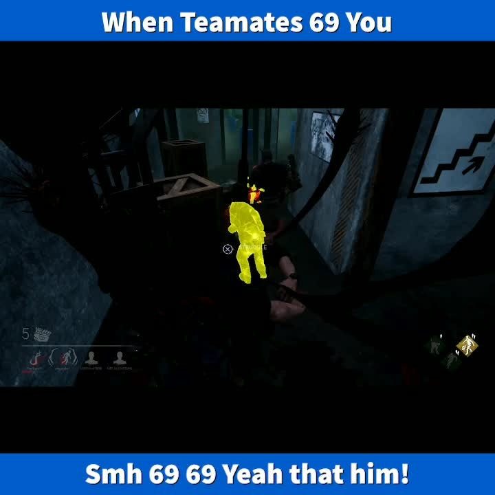 Dead by Daylight: Memes - When people Rather 69 then play right smh video cover image 1