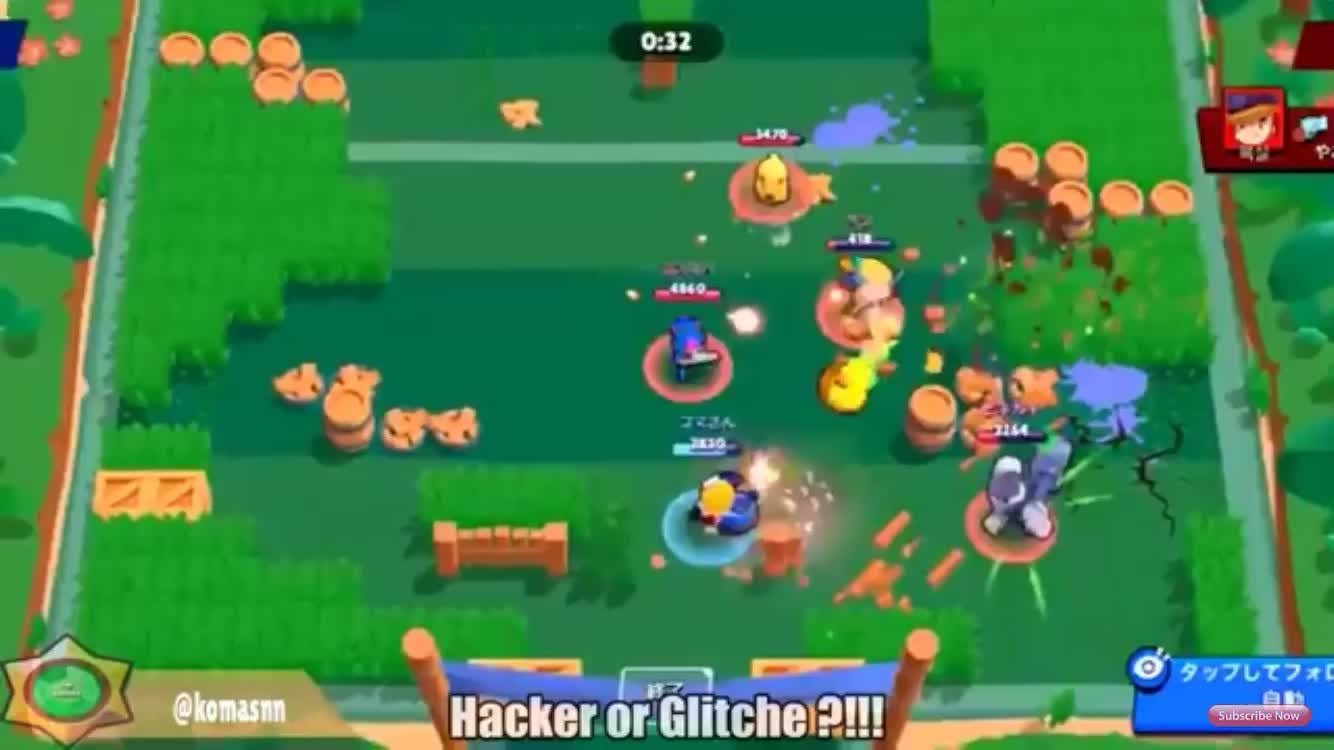 Brawl Stars: Memes - Hacker or a Glitch?¿!! video cover image 0