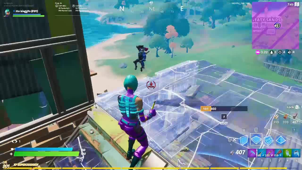 Fortnite: Battle Royale - Noscope win as Level 200 video cover image 0
