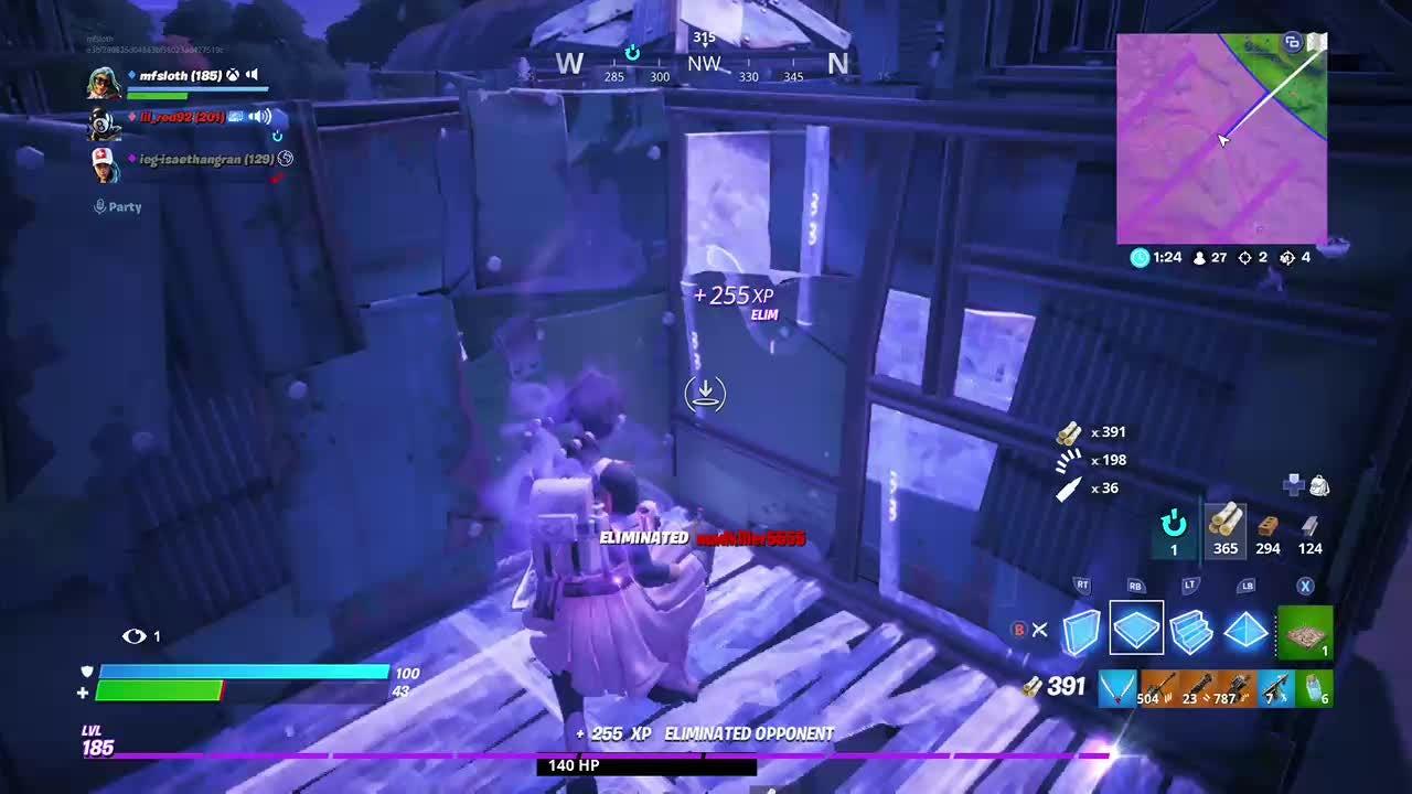 Fortnite: Battle Royale - Gotta love the harpoon 😂😂 video cover image 0