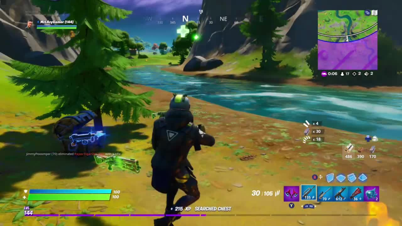 Fortnite: Battle Royale - ?Yeet someone with fall damage?  Didn't count 😥😥😥 video cover image 0