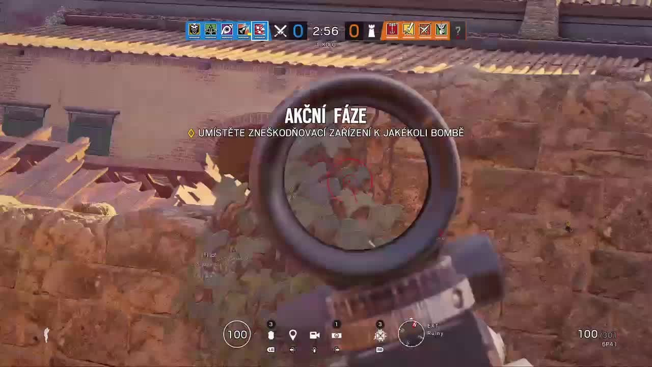Rainbow Six: Promotions - Interesting Wallbang+Tbag with random guy video cover image 0