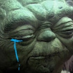 Yoda tries to find someone
