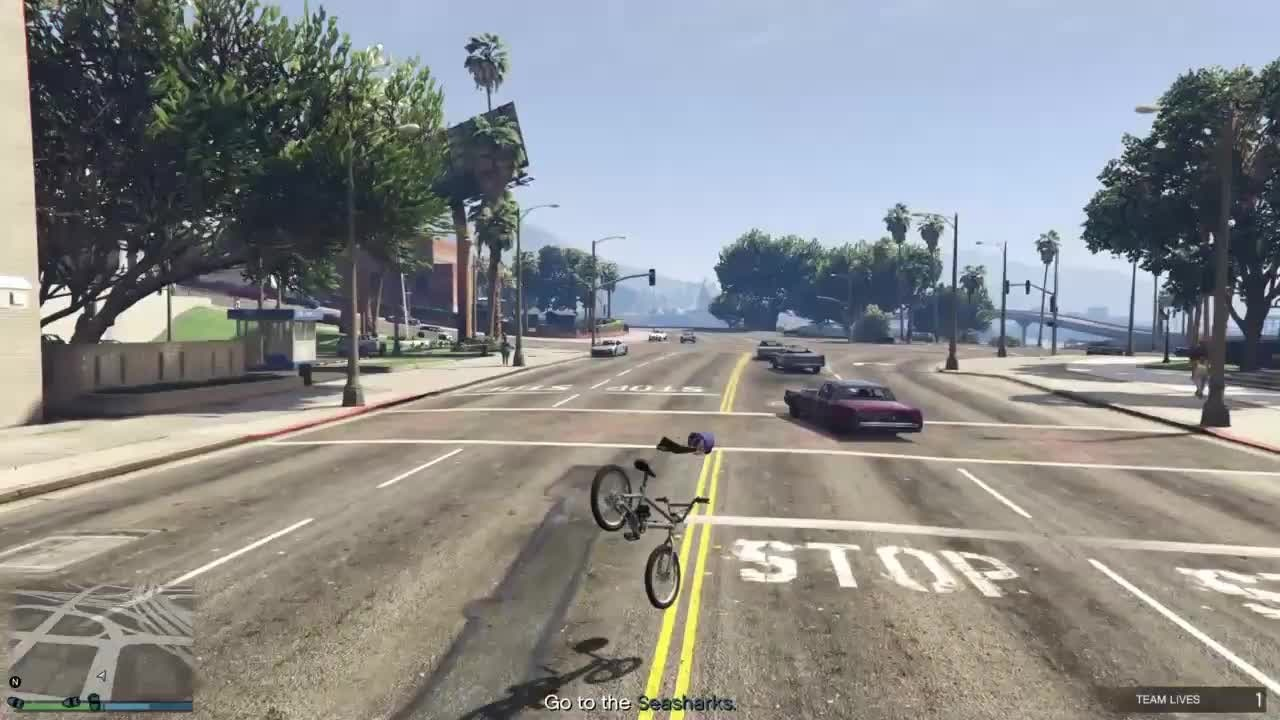 GTA: General - Frame bounce into 360 into frame bounce video cover image 0