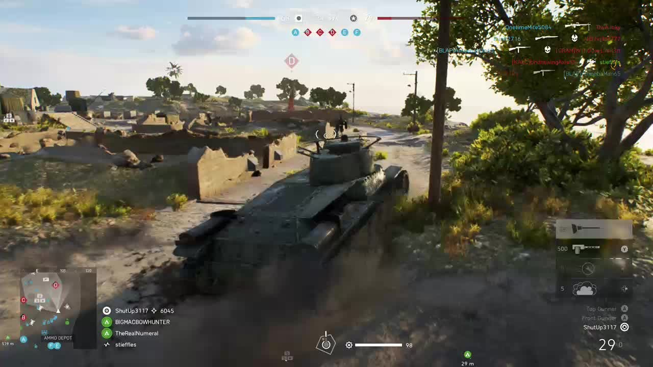 Battlefield: General - Gewehr 95 colat and triple tank kill video cover image 1