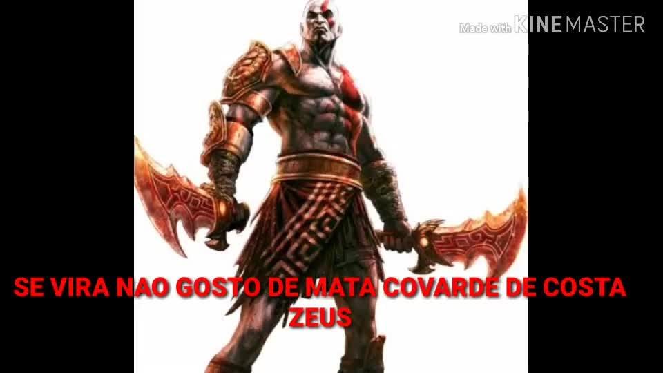 God of War: General - KRATOS NAO E COVARDE E VINGATIVO video cover image 0