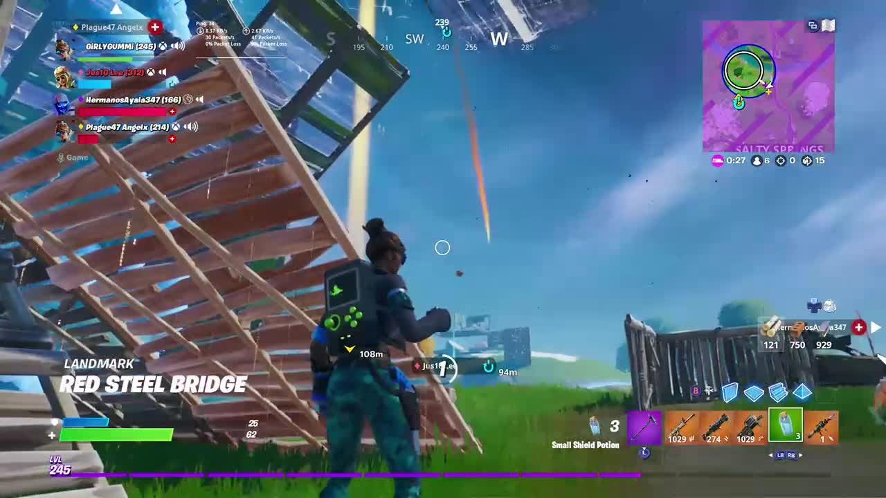 Fortnite: Battle Royale - I was like,  yup I'm dead. video cover image 0