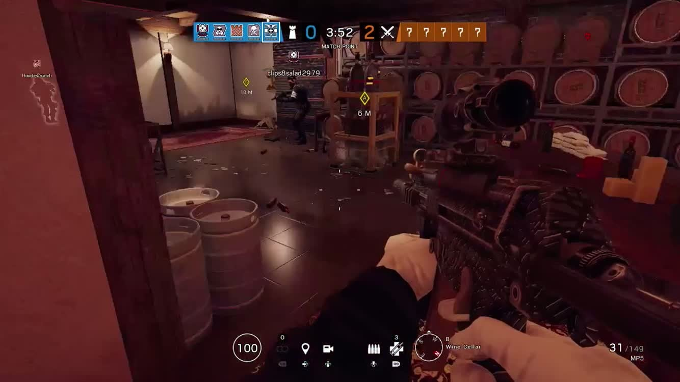 Rainbow Six: General - This is me clutching the game and getting the ace🥶 video cover image 0