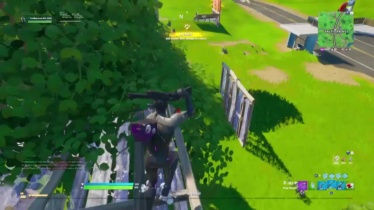 Fortnite: Battle Royale - My Favorite Way To Kill Someone : video cover image 1