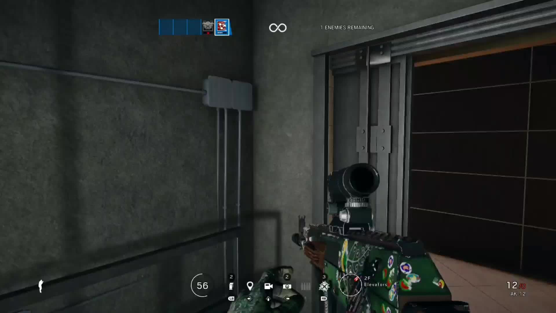 Rainbow Six: General - First dropshot on a bot at lvl 21! video cover image 1