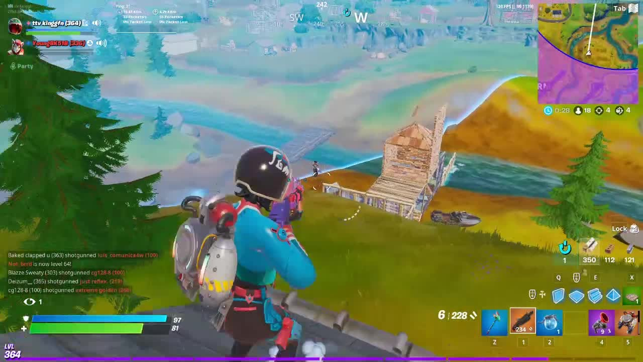 Fortnite: Battle Royale - 10 Kill Close Encounters Dub W/out Jetpack! video cover image 0