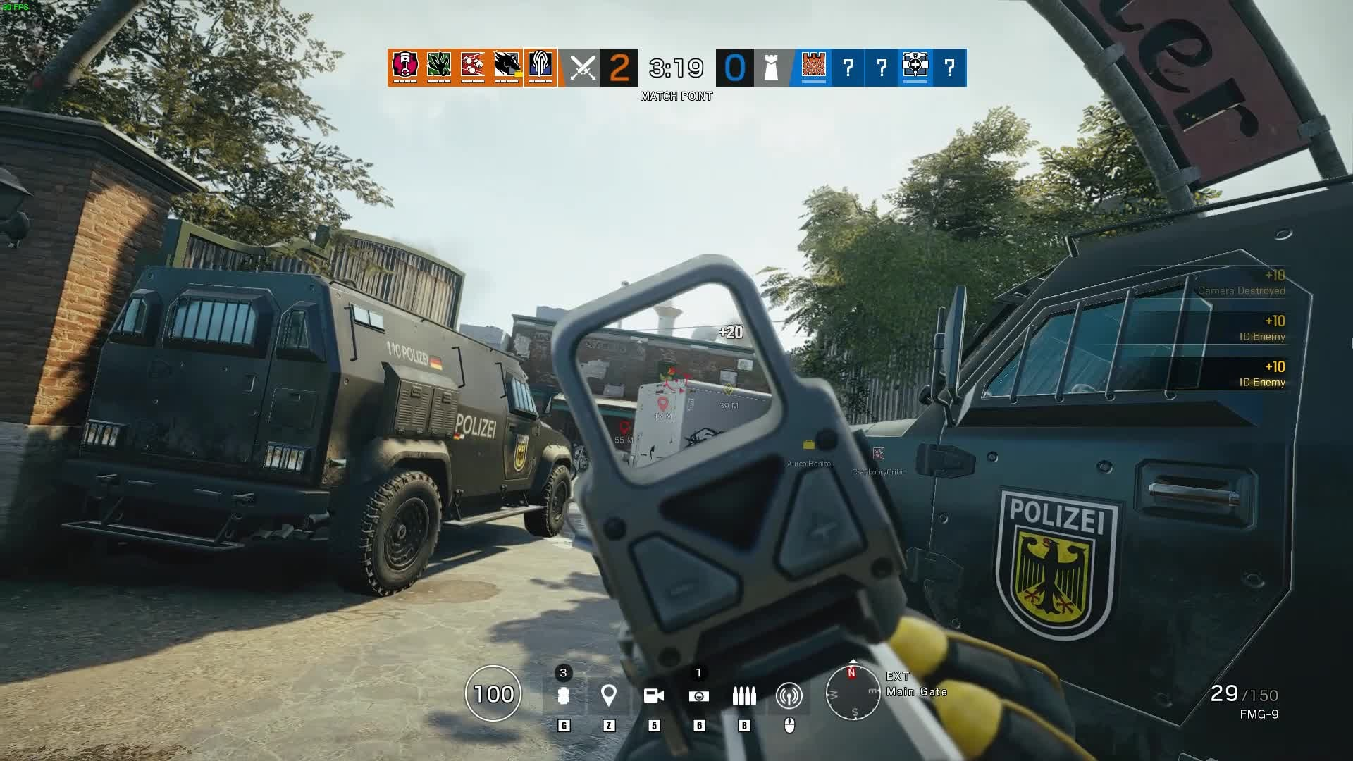 Rainbow Six: General - Lucky Spawn Peek Denial ... Hate to be the other guy video cover image 0