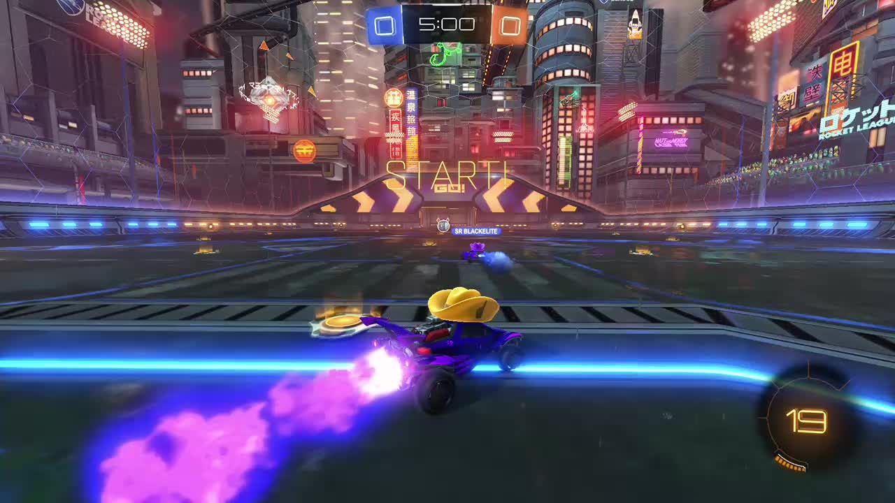 Rocket League: Highlights - Well... If this isn't teamwork. video cover image 0