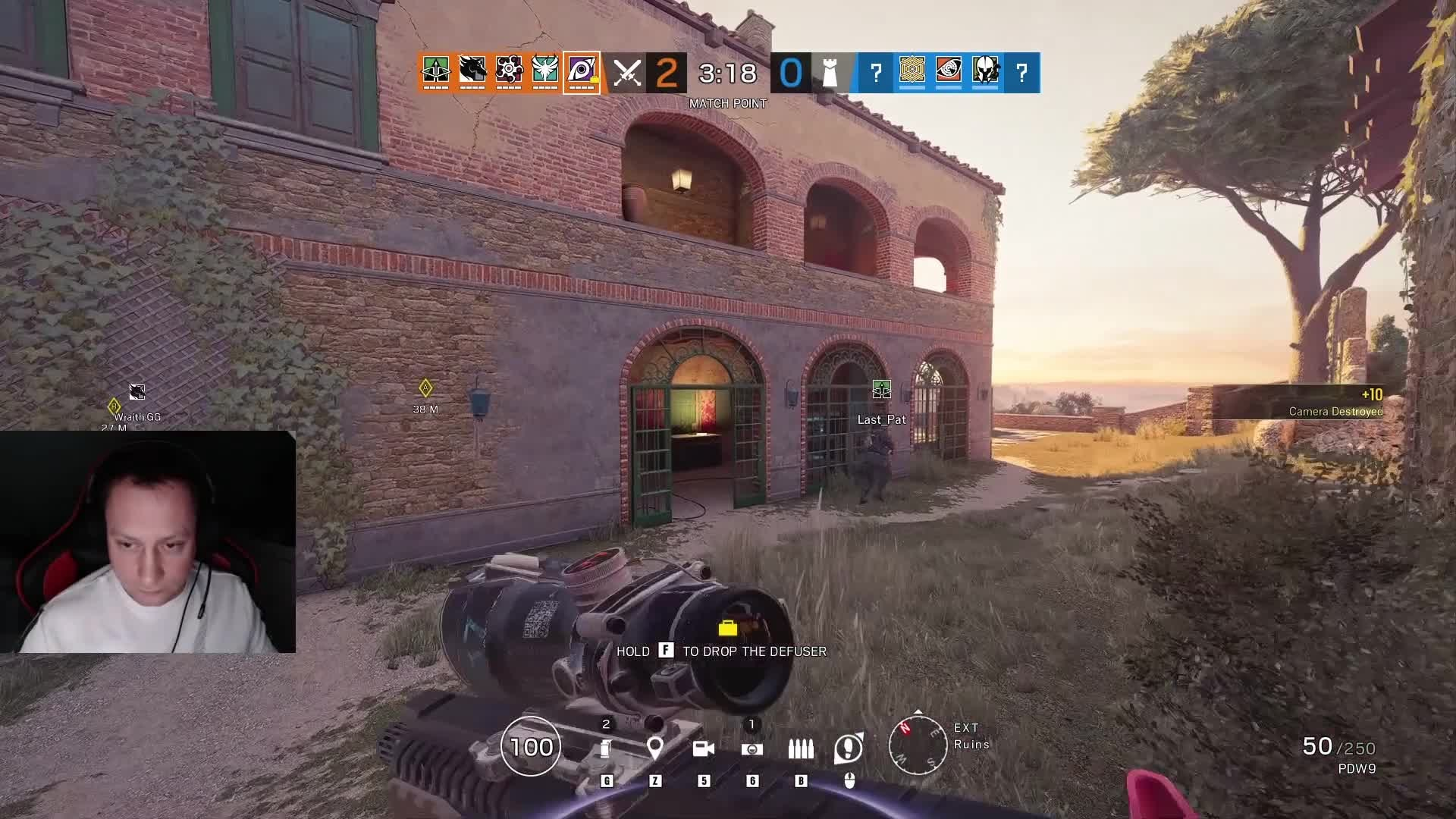 Rainbow Six: General - 60 Second Jackal Ace Stolen By Wraith.GG 😥 video cover image 1