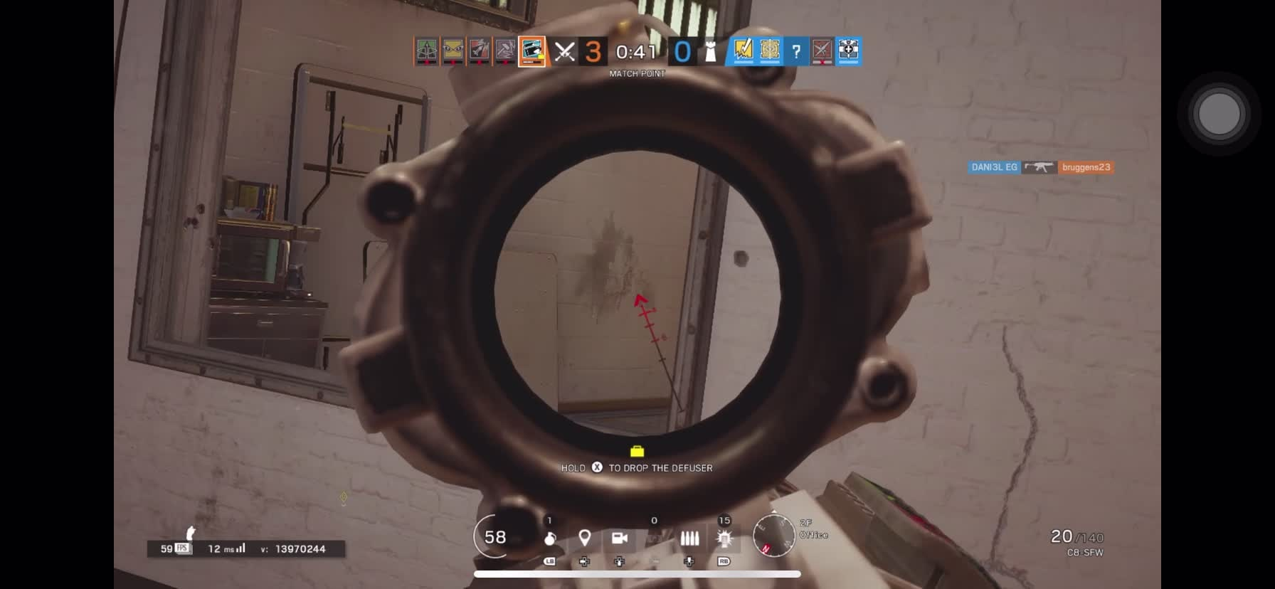 Rainbow Six: General - Flick with Buck, luck or skill? video cover image 1