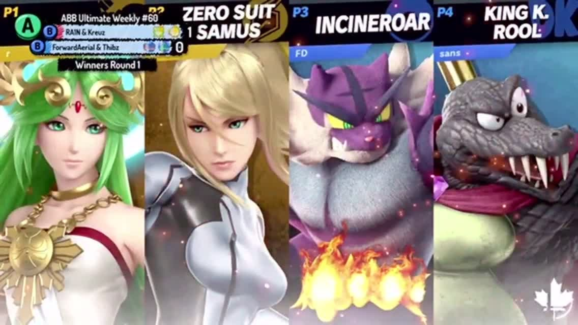 Super Smash Bros: General - Early Doubles dominance with the big wrestling cat  video cover image 0