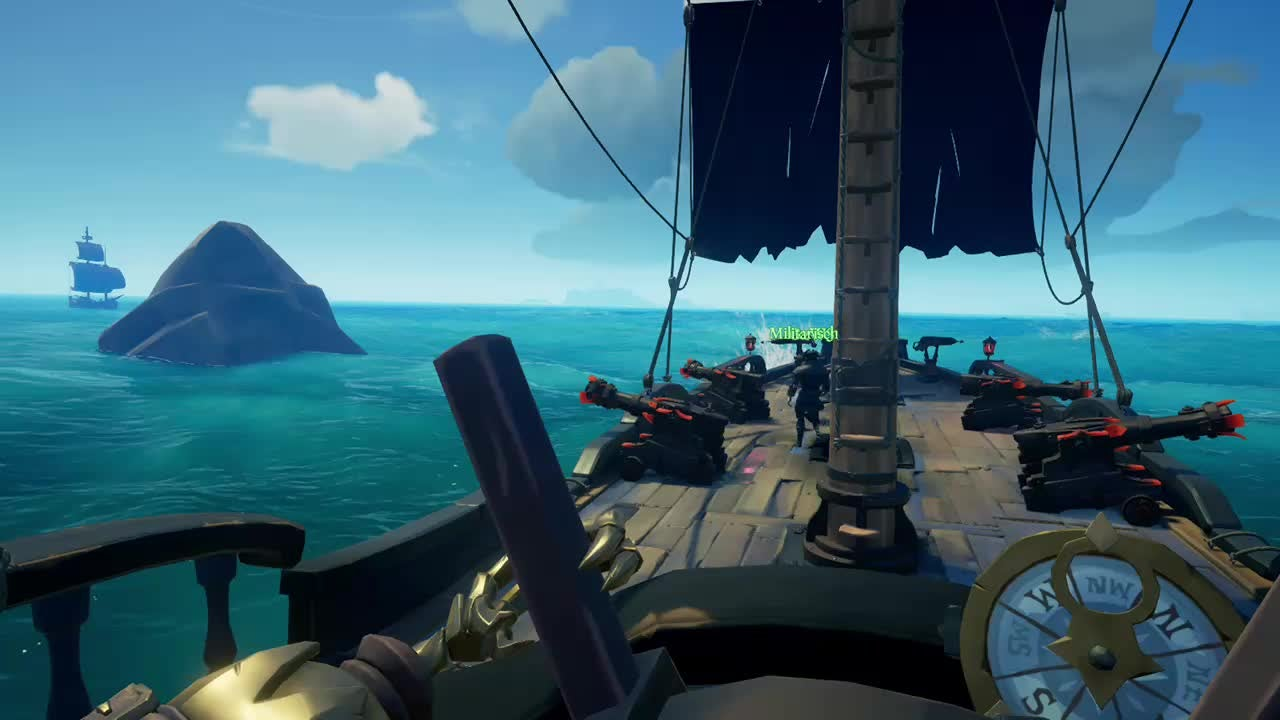 Sea of Thieves: General - Epic Brig fight video cover image 0