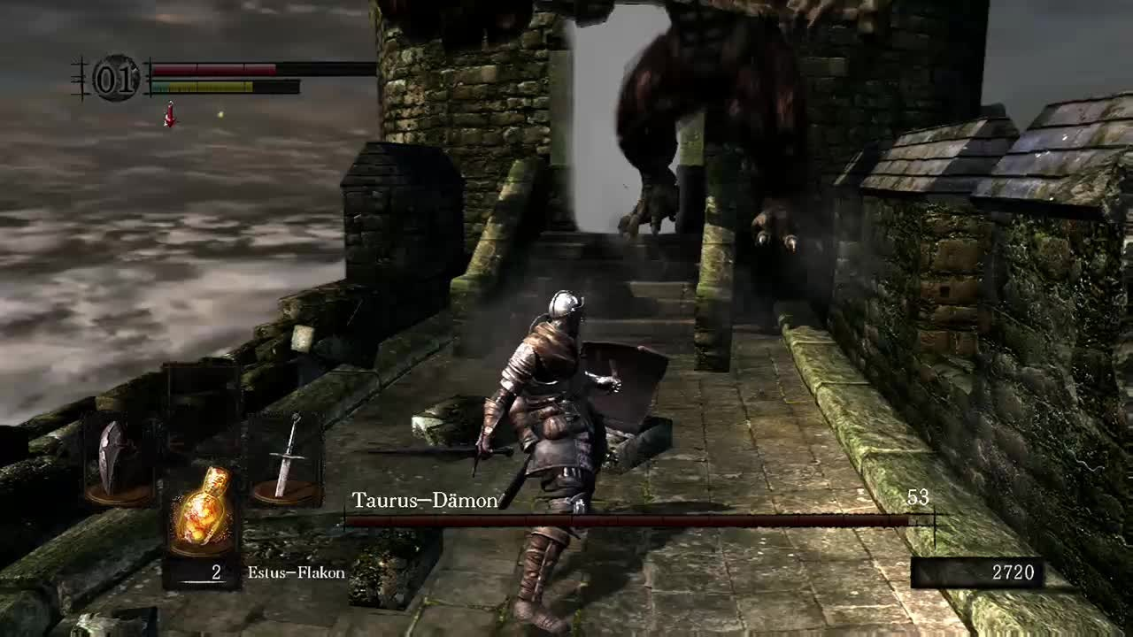 Dark Souls: Memes - How to kill a boss video cover image 0