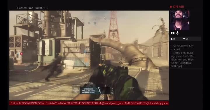Call of Duty: General - I thought it was a nice throw what do you think  video cover image 0