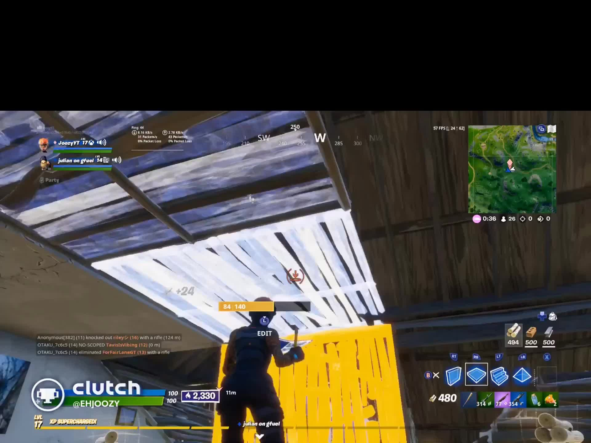 Fortnite: General - I WON THIS GAME WITH 10 KILLS GOOD MORNING  video cover image 1