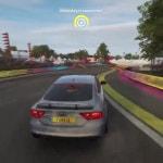 Drifting Audi