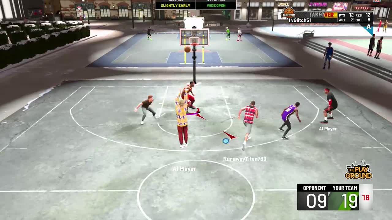 NBA 2K: MyCareer - Slite park work video cover image 0