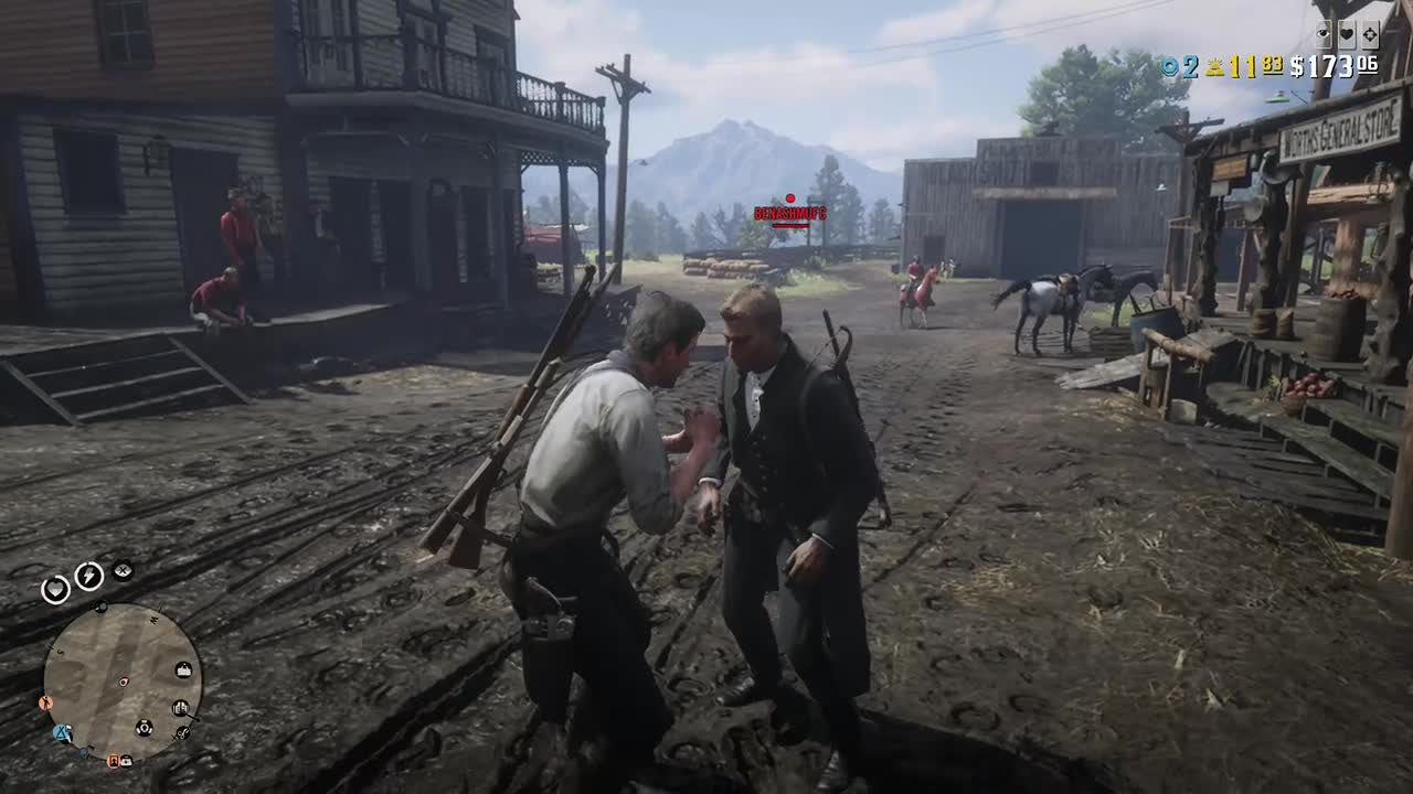 Red Dead Redemption: General - Conflict in valentine video cover image 0