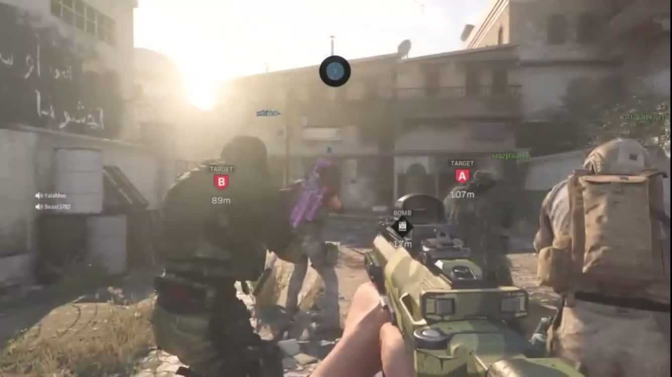 Call of Duty: General - These guys raps fire video cover image 0