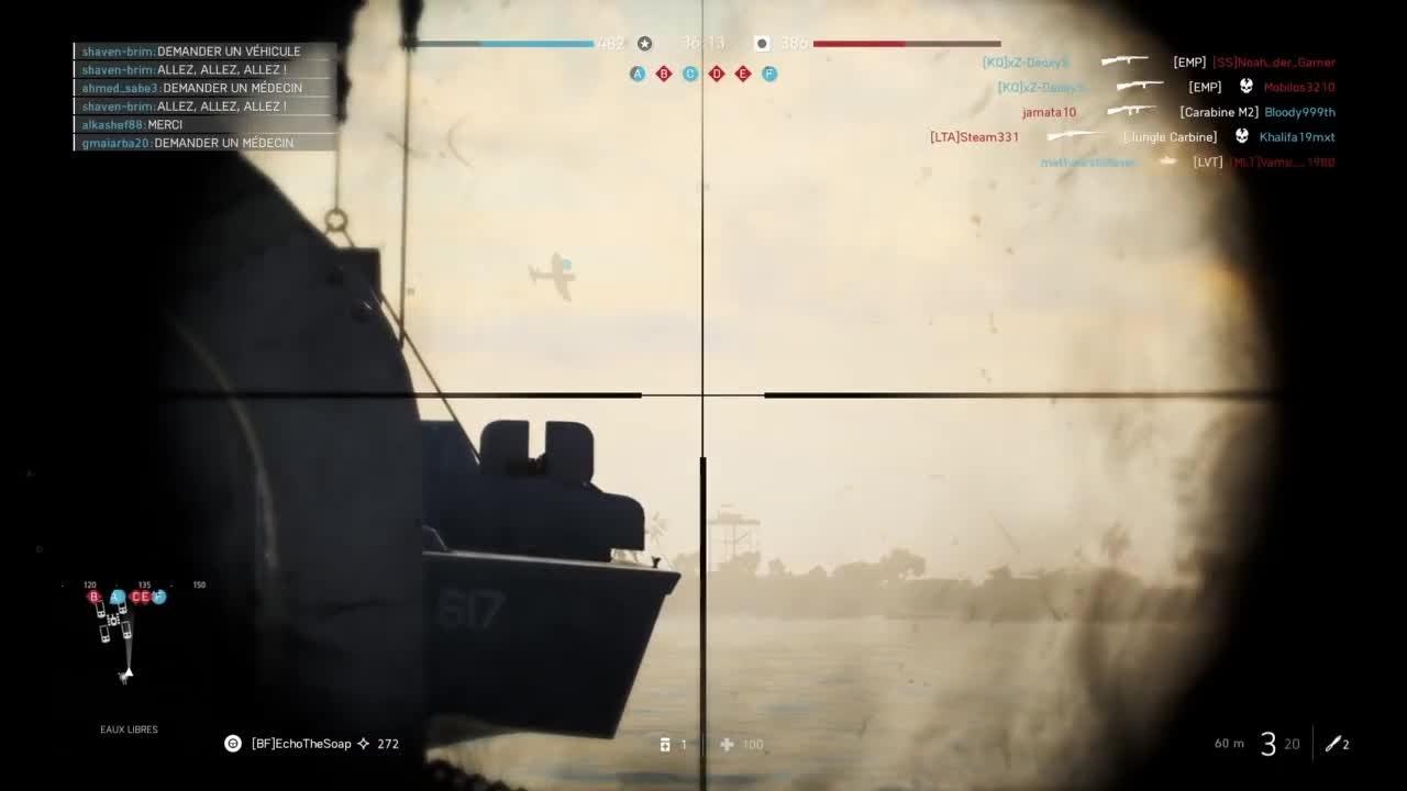 Battlefield: General - My longuest headshot in BFV video cover image 0