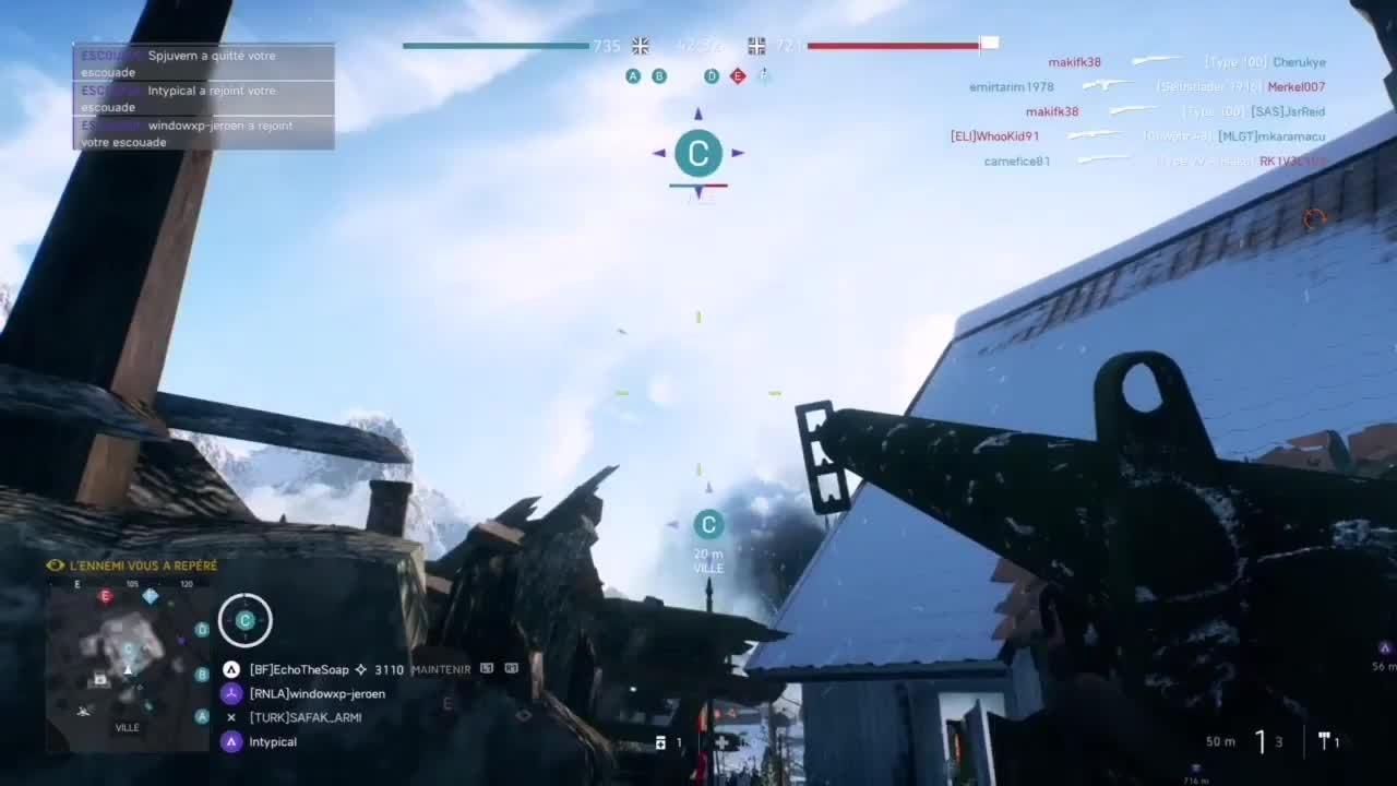 Battlefield: General - Blind shot on a plane 👌 video cover image 0