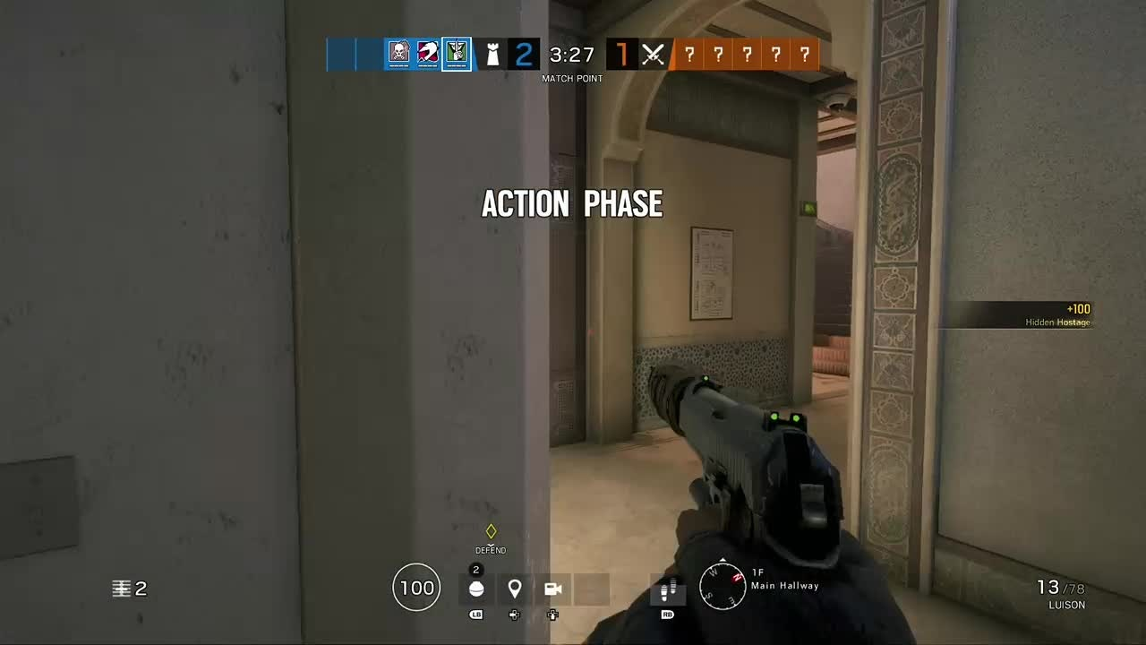 Rainbow Six: General - I get so lucky with these wall bangs  video cover image 0